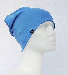 Detské čiapky - Čiapka Elastic modrá - 9055212_