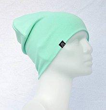 Detské čiapky - Čiapka Elastic mint - 9057054_