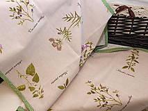 Úžitkový textil - ...štóla  herbár... - 9054624_