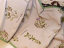 Úžitkový textil - ...štóla  herbár... - 9054625_