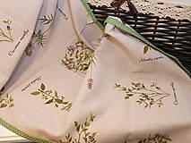 Úžitkový textil - ...štóla  herbár... - 9054626_