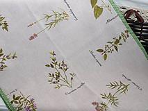 Úžitkový textil - ...štóla  herbár... - 9054627_