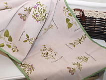 Úžitkový textil - ...štóla  herbár... - 9054639_