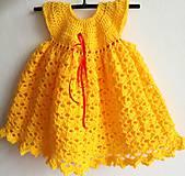 Šaty - Šaty ,Slniečko' - 9056498_