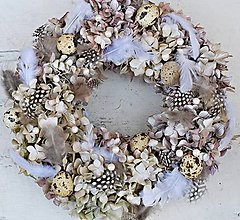 Dekorácie - hortenzie jako z perleti - 9063865_