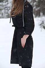 Šaty - Katarína šaty (NA MIERU - Modrá) - 9062936_