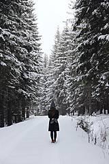 Šaty - Katarína šaty (NA MIERU - Modrá) - 9062946_