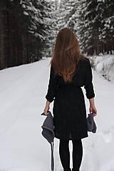 Šaty - Katarína šaty (NA MIERU - Modrá) - 9062968_