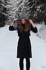Šaty - Katarína šaty (NA MIERU - Modrá) - 9062971_