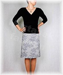 Sukne - Sukně z krásné rifloviny vz.493 - 9063048_