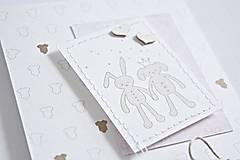 Papiernictvo - Pozdrav pre bábätko/dievčatko - 9063244_