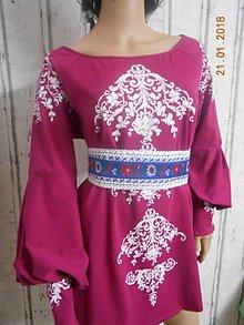 Šaty - FLORAL FOLK - šaty
