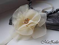 - Svadobný náramok pre družičky - 9062145_