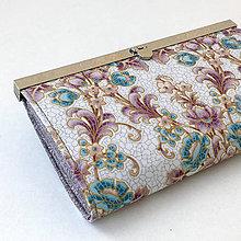 Peňaženky - Zlatotisk barevný - rámečková peněženka - 9062959_