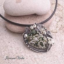 Náhrdelníky - MARGARITA náhrdelník - 9060181_