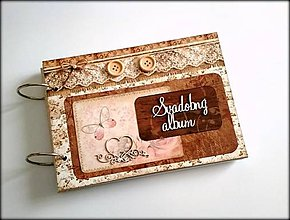 Papiernictvo - Fotoalbum * svadobný album * album a5 - 9059458_