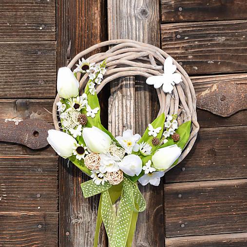 82eb5e7339 Veľkonočný venček na dvere   Hydrangea - SAShE.sk - Handmade Dekorácie