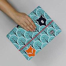 Detské tašky - Organizér na plienky - lesné zvieratká - 9058680_