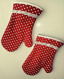 Úžitkový textil - Vintage chňapky - 9063892_