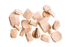 Hračky - Pišlické balančné kamene svetlé - 9063998_