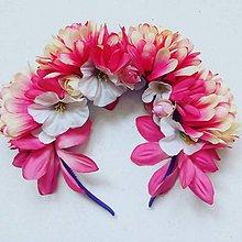 Ozdoby do vlasov - Svadobná parta na jarnú/letnú svadbu - 9063970_