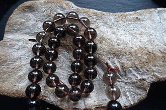 Minerály - Kremeň dymový (Záhneda) 10mm - 9059729_