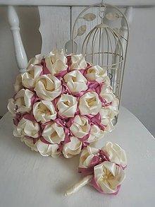 Kytice pre nevestu - Tulipánová kytica - 9060534_