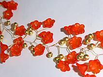 Venček z korálkových komponentov