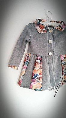Detské oblečenie - Kabátik jarný - 9067324_