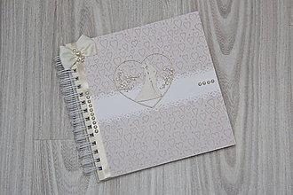 Papiernictvo - Svadobná kniha hostí - 9067826_