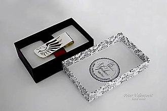 Šperky - Spona na peniaze - 9065243_