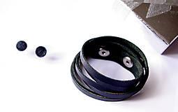 Sady šperkov - Kožený set - 9066401_