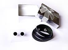 Sady šperkov - Kožený set - 9066405_