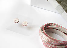 Sady šperkov - Kožený set - 9066482_