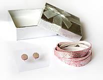 Sady šperkov - Kožený set - 9066485_
