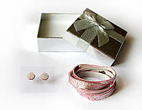 Sady šperkov - Kožený set - 9066486_