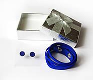 Sady šperkov - Kožený set - 9066732_