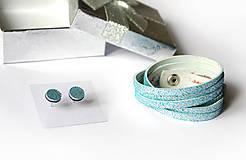 Sady šperkov - Kožený set - 9066751_
