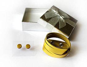 Sady šperkov - Kožený set - 9066461_