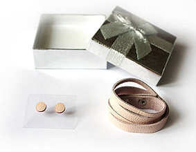 Sady šperkov - Kožený set - 9066592_