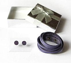 Sady šperkov - Kožený set - 9066712_