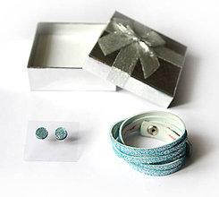 Sady šperkov - Kožený set - 9066749_