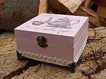 Krabičky - Krabička na čaj - 9065906_