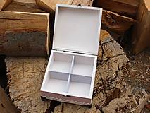 Krabičky - Krabička na čaj - 9065907_