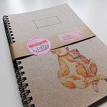 Papiernictvo - MADEBOOK špirálový zošit A5 - PSÍKOVIA - 9066055_