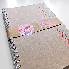 Papiernictvo - MADEBOOK špirálový zošit A5 - PREŠÍVANÉ - 9066124_