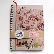 Papiernictvo - Moja prvá KUCHÁRSKA kniha - 9066779_