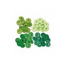 Iný materiál - Priechodky Green 1,3cm, 40ks - 9067055_
