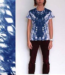 Tričká - Batikované tričko II. - 9068332_