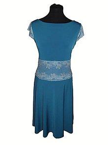 Šaty - šaty s čipkou - 9064497_